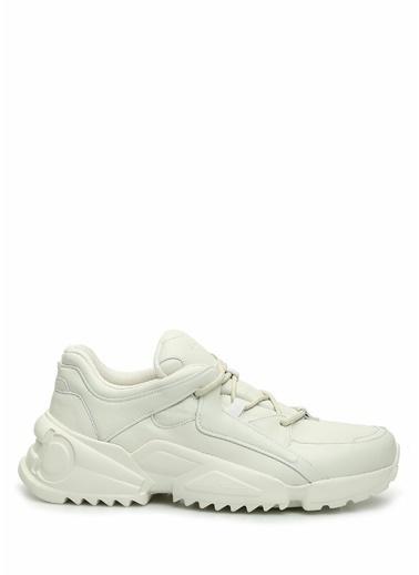 Salvatore Ferragamo Salvatore Ferragamo  Kadın Deri Sneaker 101630812 Beyaz